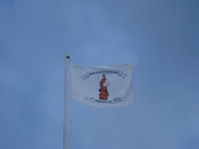 encerramento da festa de n.sra. do lto 2009 (bandeira)